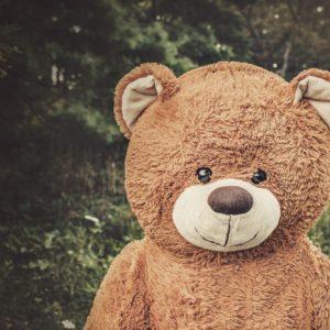 Fotobehang-teddybeer-xxl