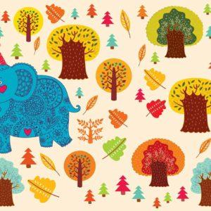 Elephant-floral