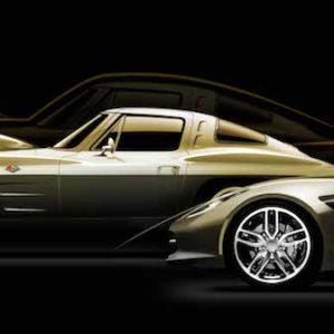 1957 Stingray racer concept 1963 Corvette Sting Ray  2014 Corvette Stingray